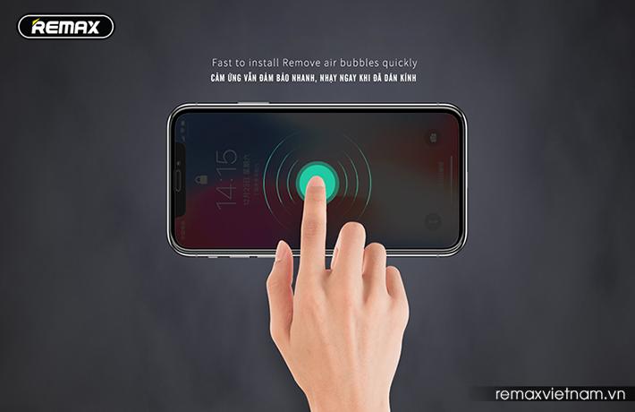 Kính cường lực 9D iPhone Xs Max Remax GL-32 - 2