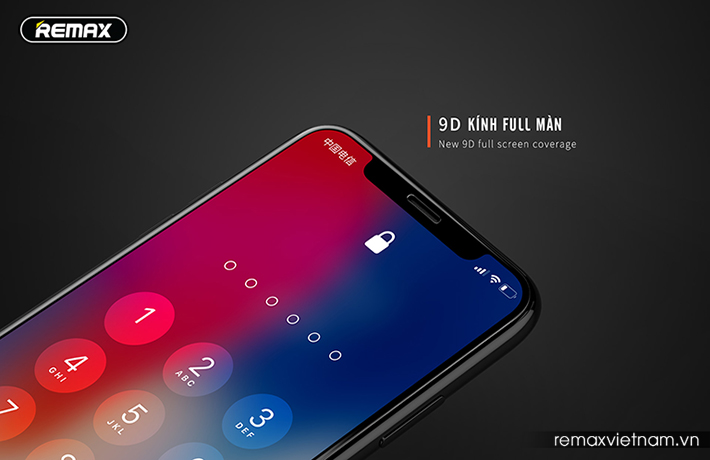 Kính cường lực 9D iPhone Xs Max Remax GL-32 - 5