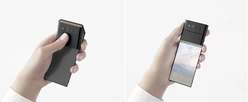 OPPO giới thiệu chiếc điện thoại thông minh có thể gập lại thành 3 2