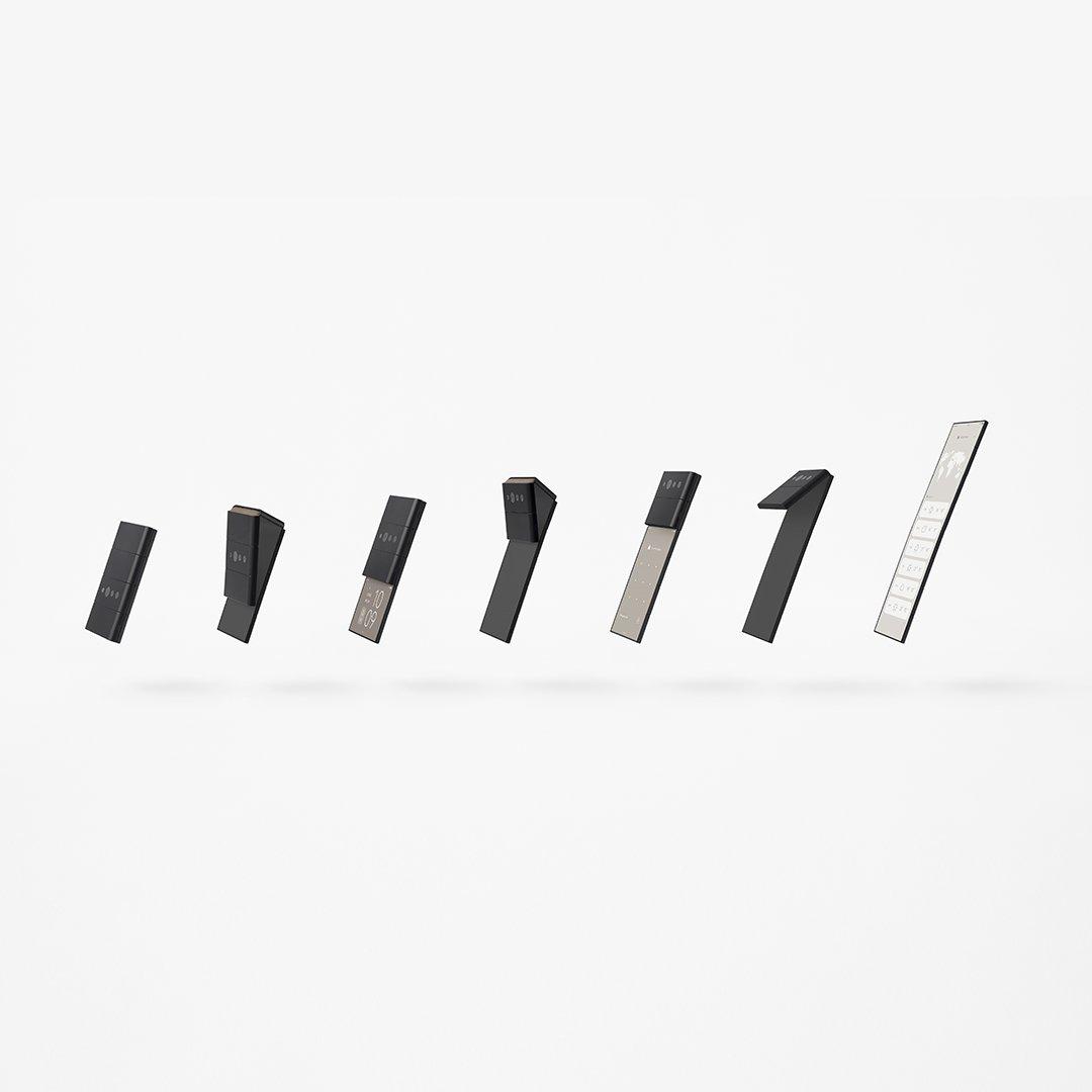 OPPO giới thiệu chiếc điện thoại thông minh có thể gập lại thành 3