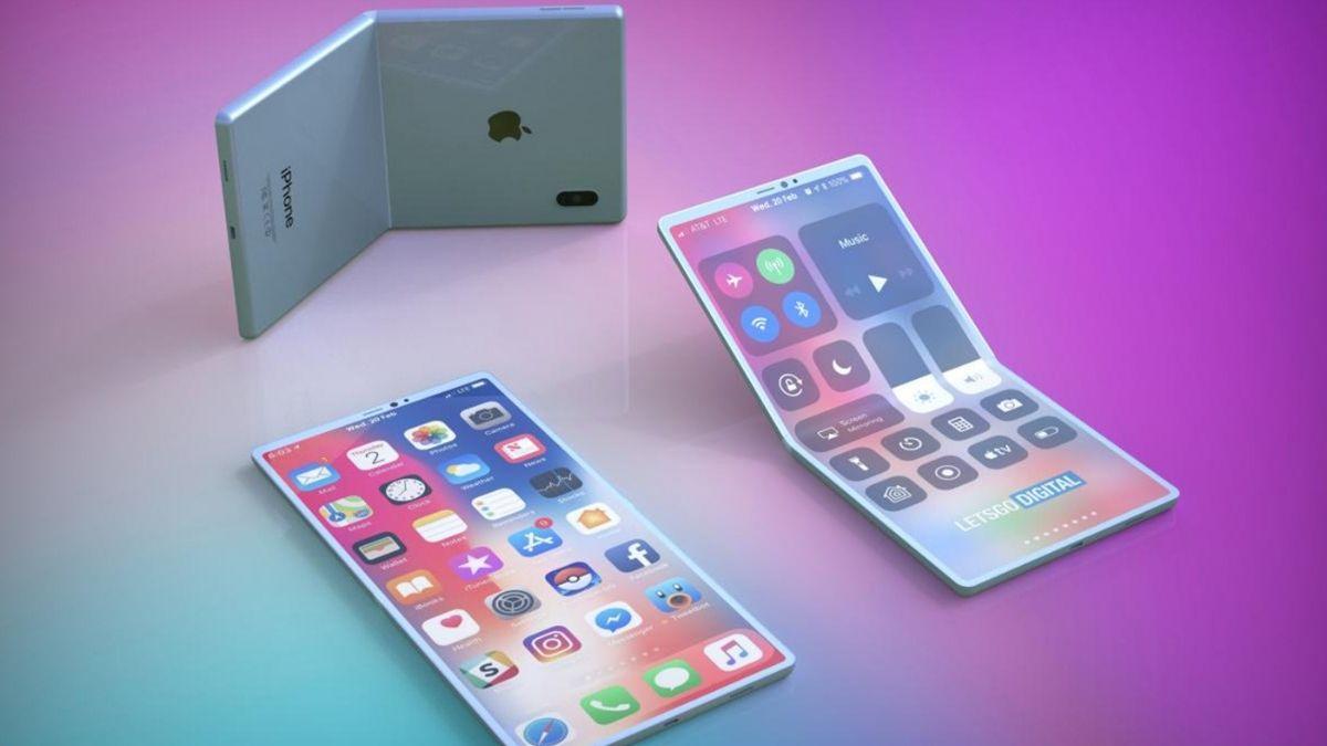 Apple đang phát triển nguyên mẫu iPhone có thể gập lại 3