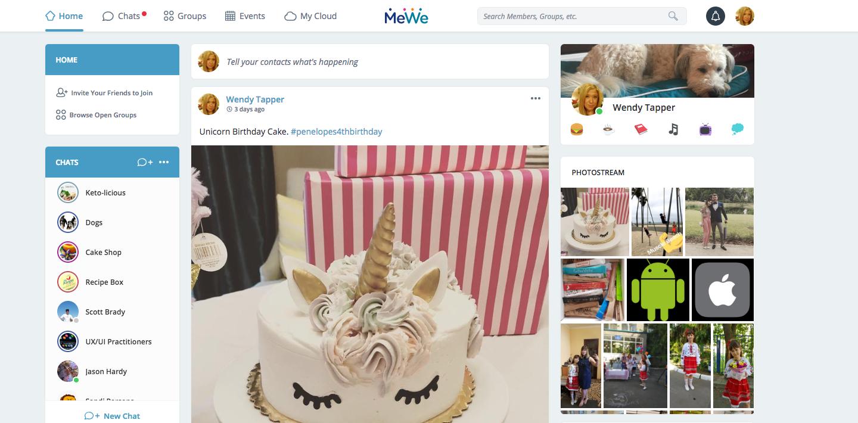 Đối thủ mới của Facebook tăng 2,5 triệu người đăng ký trong một tuần 2