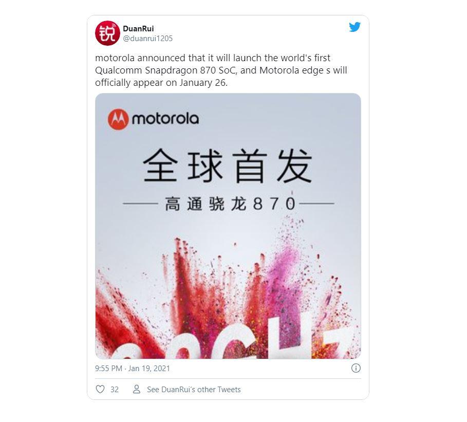 Motorola xác nhận sẽ tung ra một chiếc flagship 5G vào tuần tới 3