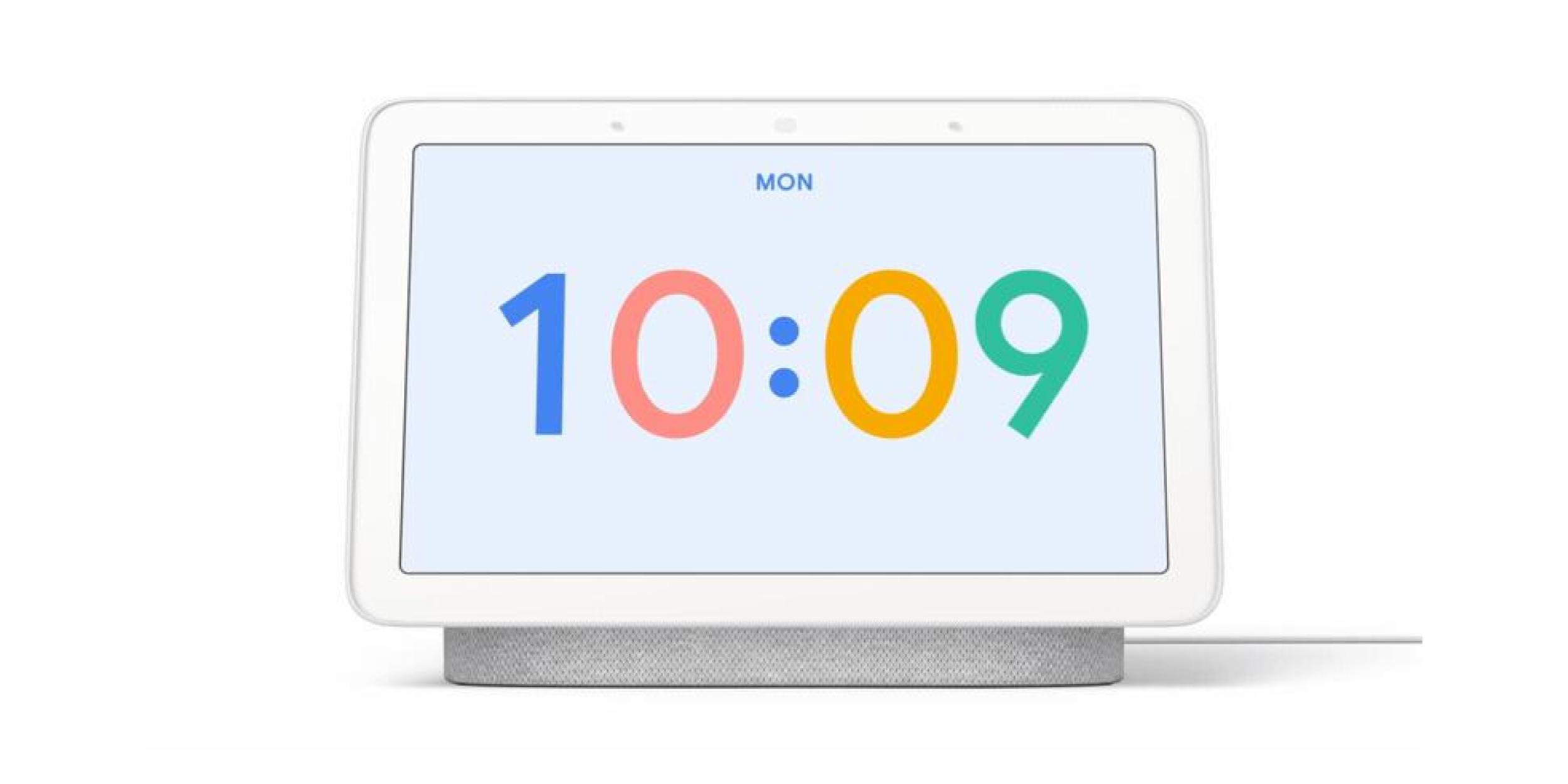 Google ứng dụng đề xuất mặt đồng hồ mới Nest mới Hub