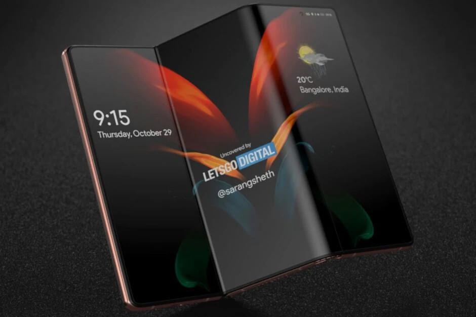 Hóng: Samsung Galaxy Z gập đôi màn hình sẽ ra mắt trong năm nay 1