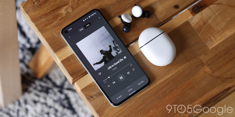 YouTube Music cho ra mắt thiết kế mới Now Playing trên  iPhone