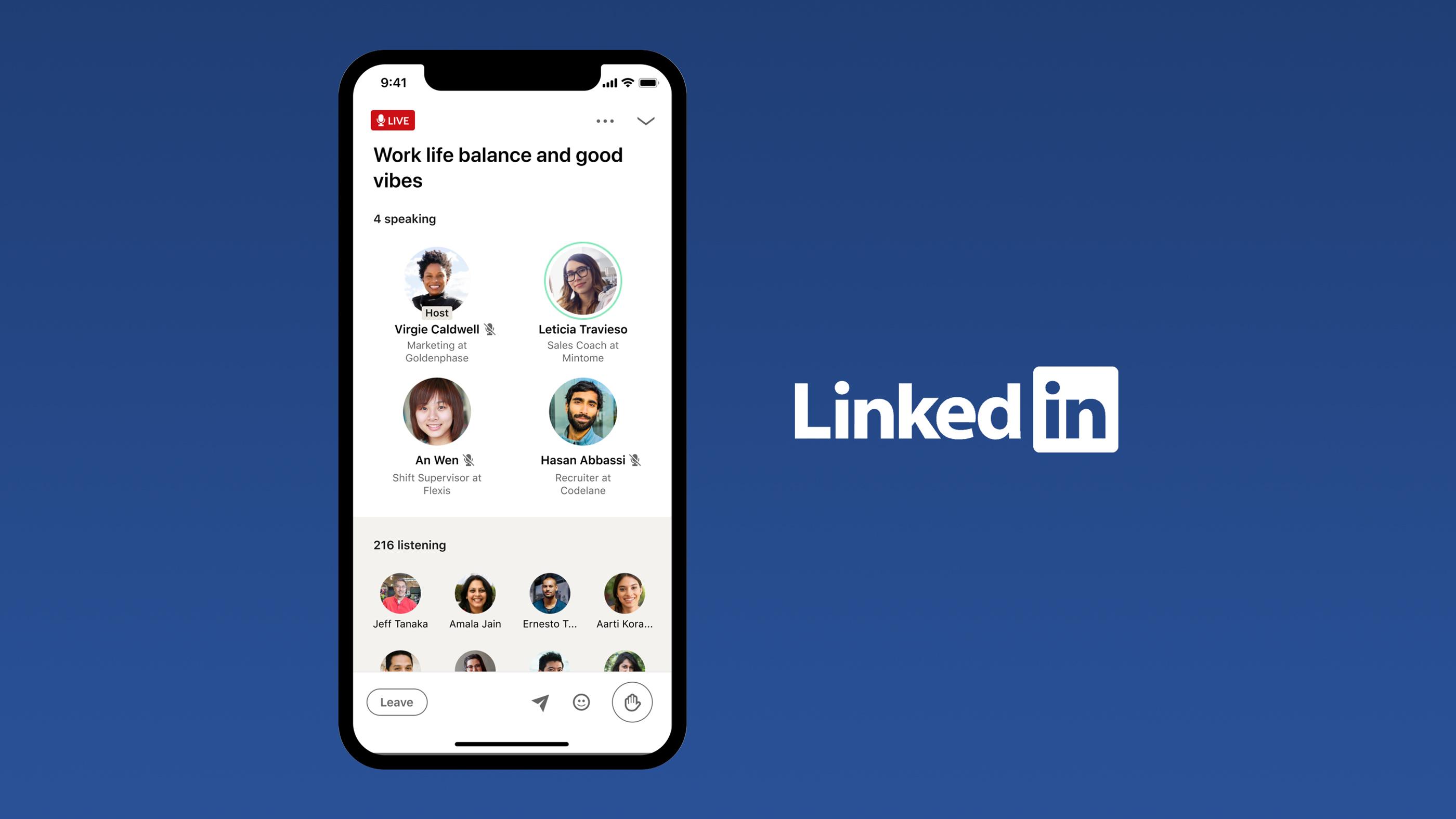 LinkedIn hiện muốn có nền tảng giống như Clubhouse