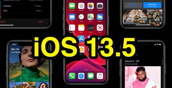 Apple phát hành iOS 13.5 với cải tiến Face ID & API và nhiều tính năng khác