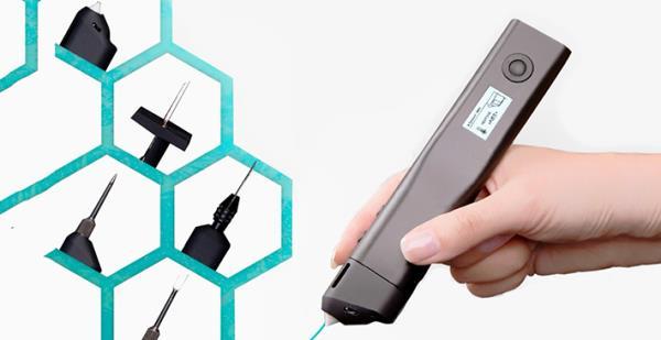 Chiếc bút THẦN KÌ cho phép bạn cắt, khắc, khoan, hàn và thậm chí in 3D