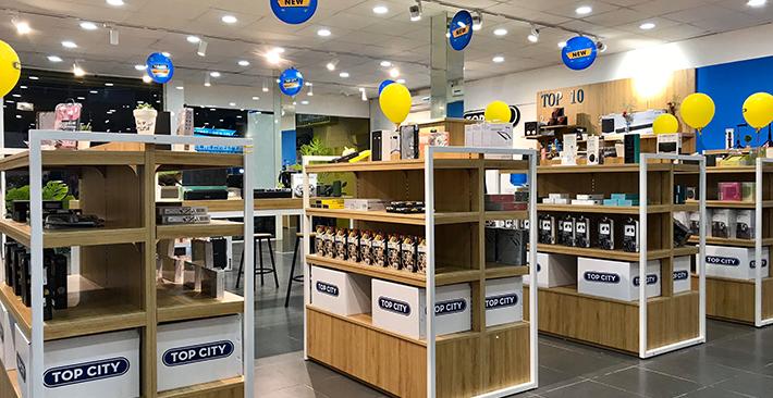 Ngạc nhiên với độ phủ sóng của chuỗi cửa hàng phụ kiện điện thoại Top City tại Việt Nam chỉ trong 2 năm