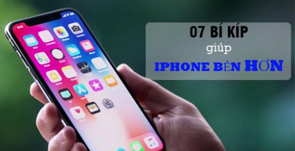 7 bí quyết người dùng nên note lại để giúp iPhone bền hơn không cần đi bảo hành