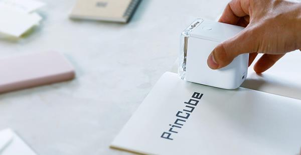 PrinCube - Máy in màu nhỏ nhất thế giới, in được trên mọi vật liệu kể cả da tay