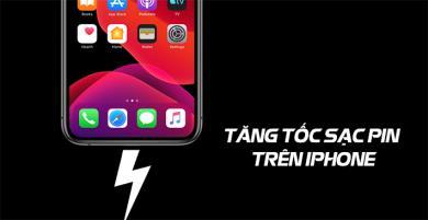 5 thủ thuật giúp tăng tốc sạc pin trên iPhone nhanh hơn