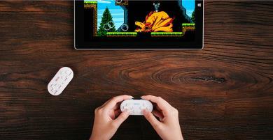 8BitDo Zero - Bộ điều khiển chơi game Bluetooth siêu nhỏ gọn