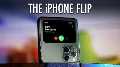 Lộ concept iPhone 12 Flip đẹp lung linh có thể gập như Samsung Galaxy Z Flip