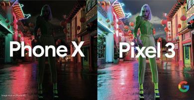 Google khoe về ưu thế máy ảnh của Pixel 3 so với iPhone XS