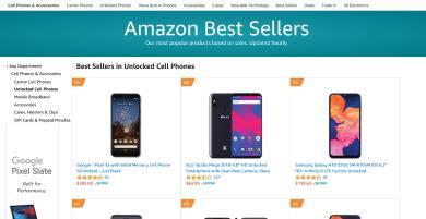 Bạn sẽ không ngờ đây là chiếc điện thoại unlock bán chạy nhất Amazon