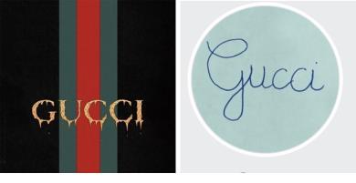 Cập nhật ngay trào lưu ảnh đại diện chữ viết tay - Gucci