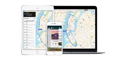So sánh chế độ quan sát của Apple Map và Google Map