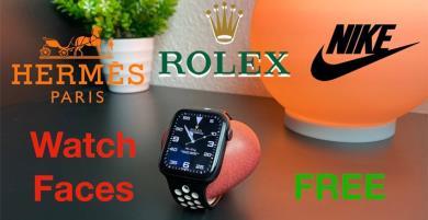 Biến mặt đồng hồ Apple Watch thành Rolex, Casio,...MIỄN PHÍ