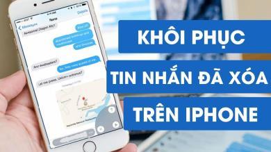 Mẹo khôi phục tin nhắn đã xóa trên iPhone trong 1 nốt nhạc