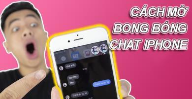 Cách mở bong bóng chat Messenger trên iPhone không cần Jailbreak