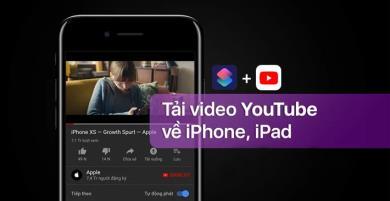 Hướng dẫn tải video chất lượng cao từ Youtube về iPhone đơn giản