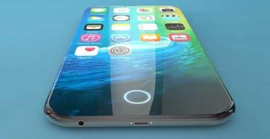 Concept iPhone XII với màn hình tràn cạnh không viền, không phím vật lý, camera ẩn dưới màn hình