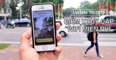 (Cập nhật 10/2019) Tổng hợp điểm truy cập WIFI miễn phí tại Việt Nam