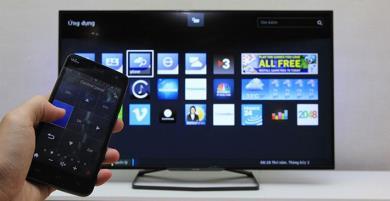 Điều khiển TV, máy lạnh bằng iPhone, điện thoại android đơn giản