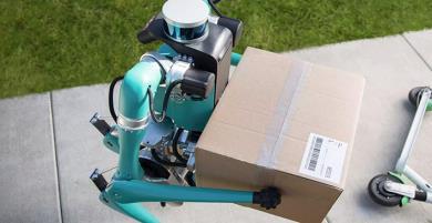 Ford Demos thử nghiệm robot giao hàng hình thể giống con người