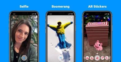 Facebook Messenger có Boomerang, nhãn AR và chế độ chân dung