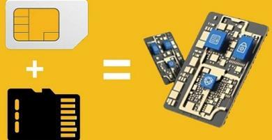 Hợp nhất SIM và thẻ nhớ làm một, dấu mốc phát triển mới của công nghệ