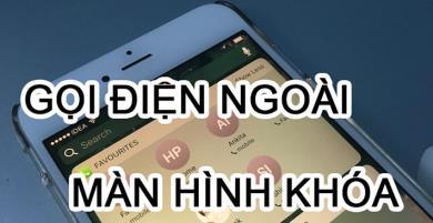 Hướng dẫn nhắn tin và gọi điện trên iPhone không cần mở khóa