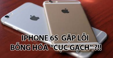 """Người dùng HOẢNG HỐT vì iPhone 6s và 6s Plus bỗng biến thành """"cục gạch"""""""