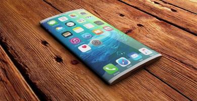 iPhone màn hình cong, siêu phẩm di động được mong chờ nhất năm