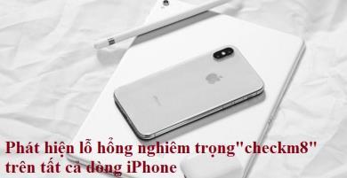 Phát hiện lỗ hổng nghiêm trọng không thể vá của tất cả dòng iPhone từ 4s - X, Apple tính sao?