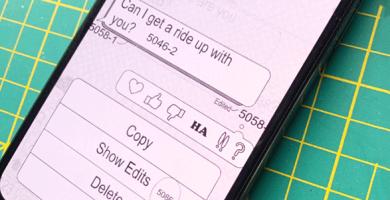 Người dùng iPhone có thể sửa tin nhắn iMessage đã gửi trong tương lai