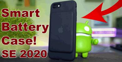 Ốp lưng kiêm pin sạc dự phòng tốt nhất cho iPhone SE 2020