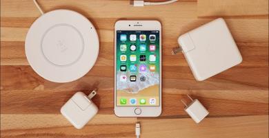 Top phụ kiện iPhone 8 Plus đi kèm như hình với bóng