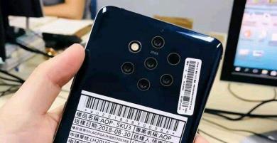 Rò rỉ hình ảnh Nokia 9 (AOP) sở hữu 5 camera cực độc