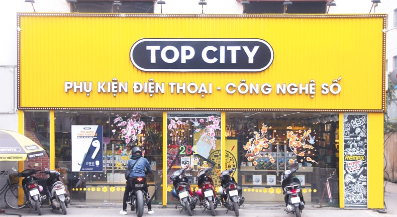 Showroom Top City 331 Cầu Giấy