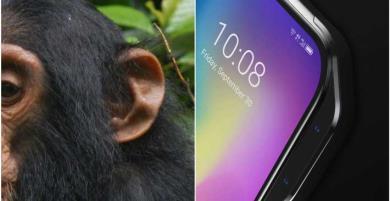 "Hết ""tai thỏ"", hãng Trung Quốc lại làm smartphone ""tai khỉ"""