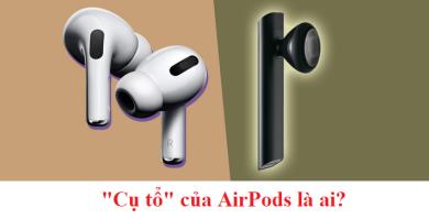 """Khám phá """"Cụ tổ"""" của AirPods đen huyền bí"""