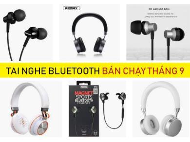 Những mẫu tai nghe bluetooth thể thao, in-ear, true wireless bán chạy tháng 9