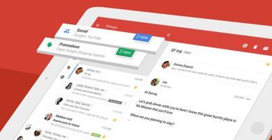 Thiết kế giao diện mới của ứng dụng Gmail trên iOS