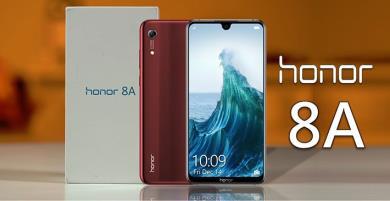 Honor 8A sẽ ra mắt tại Trung Quốc vào ngày 8 tháng 1
