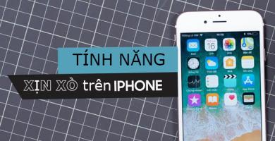 """Những tính năng """"xịn xò"""" này trên iPhone chắc chắn khiến fan Android phải ghen tị"""