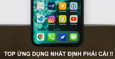 Tổng hợp các apps hữu ích nên cài cho iPhone