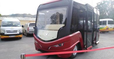 Khám phá thiết kế của xe bus không người lái Vinfast